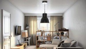 Дизайн однокомнатной квартиры площадью 36 кв.м