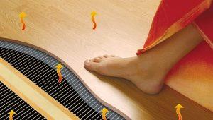 Как выбрать инфракрасный теплый пол под ламинат и осуществить монтаж?