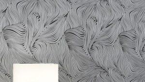 Обои с абстракцией для стен: особенности и примеры в интерьере