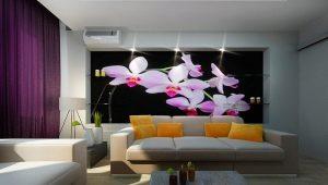 Обои в интерьере квартиры: идеи дизайна и способы комбинирования