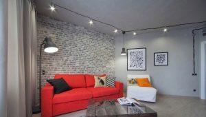 Однокомнатная квартира в стиле «лофт»: творческий беспорядок в интерьере