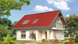 Особенности планировки дома размера 10х8 м с мансардой
