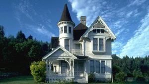Проект в стиле «замка»: дом из сказки