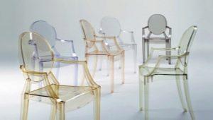 Прозрачные стулья: плюсы и минусы