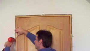 Размер дверной коробки межкомнатной двери