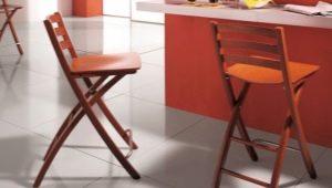 Складные барные стулья – практичная мебель в квартиру