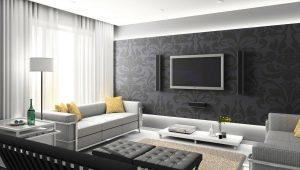 Стильный дизайн комнаты площадью 18 кв. м