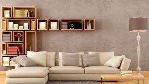 Дизайн гостиной: выбор и размещения дивана