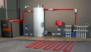 Использование теплого водяного пола от газового котла в доме: плюсы и минусы