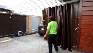 Как выбрать штору для гаражных ворот?