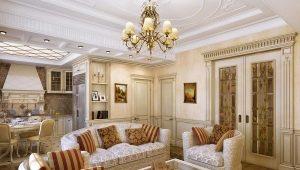 Какой должна быть мебель для гостиной в классическом стиле?