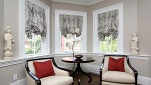 Короткие шторы в интерьере гостиной: особенности выбора