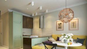 Красивый дизайн двухкомнатной квартиры площадью 60 кв.м