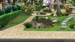 Ландшафтный дизайн: красивые варианту оформления участка площадью 30 соток