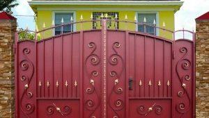 Металлические ворота: разновидности и особенности выбора