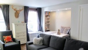 Особенности дизайна гостиной со спальным местом