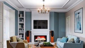 Особенности дизайна интерьера маленькой гостиной