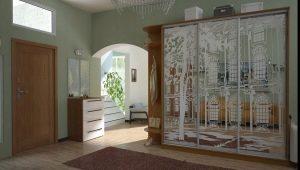 Пескоструйные рисунки на зеркале: оригинальное украшение интерьера