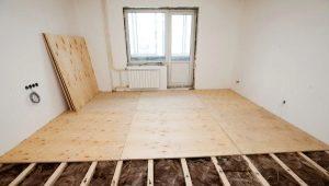 Ремонт пола в квартире: поэтапное создание своими руками