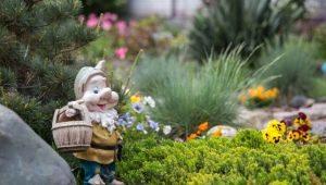 Садовые фигуры: выбор материала и пошаговое изготовление своими руками