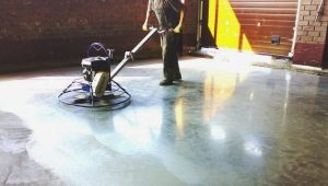 Шлифовка бетонного пола: методы и необходимые инструменты