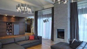 Шторы в гостиной: красивые примеры оформления интерьера