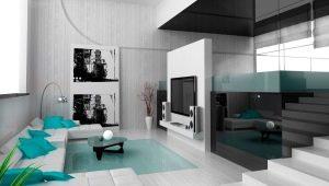 Тонкости оформления гостиной: стиль новых технологий