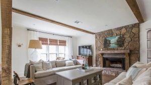 Тонкости оформления гостиной в частном доме