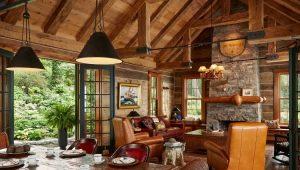 Тонкости оформления гостиной в стиле «кантри»