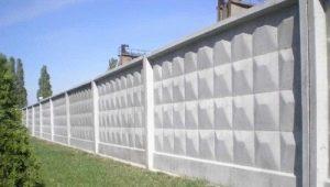Бетонный забор: особенности и советы по установке ограждения