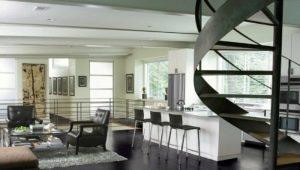 Черная напольная плитка в дизайне интерьера