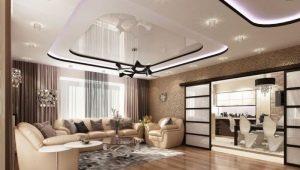 Дизайн натяжных потолков: современные примеры оформления