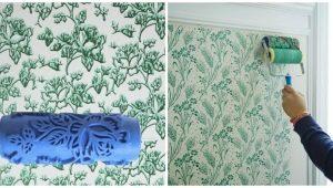 Фактурные валики для покраски стен: особенности использования