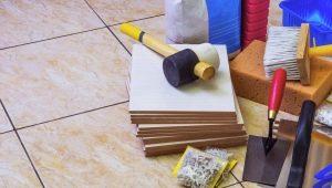 Инструмент для укладки плитки: виды и предназначение