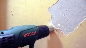 Как быстро снять краску с бетонной стены?