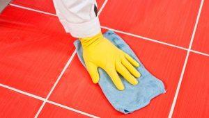 Как очистить швы напольной плитки?