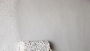 Как правильно валиком красить стены?