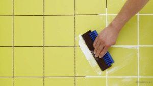 Как расшить швы керамической плитки?