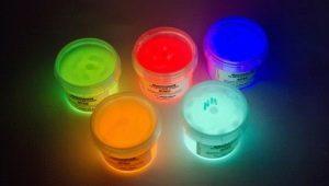 Как сделать светящуюся краску своими руками?