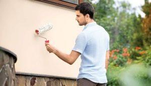 Как выбрать фасадную краску по штукатурке?