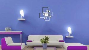 Матовая краска для стен в дизайне интерьера