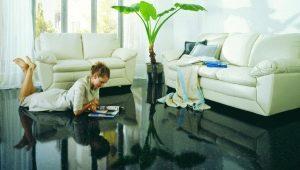 Наливной пол на цементной основе: советы по выбору