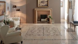 Напольная плитка в классическом стиле: тонкости оформления интерьера