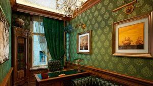 Оформление кабинета в различных стилях