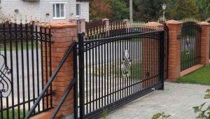 Откатные ворота с электроприводом: особенности конструкций