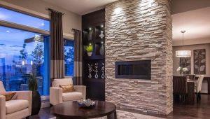 Плитка под камень: тонкости оформления дома и квартиры