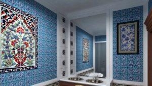 Плитка в восточном стиле: стильные решения в дизайне интерьера