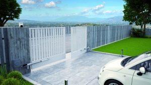 Распашные ворота с электроприводом: плюсы и минусы