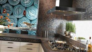 Тонкости оформления интерьера коричневой плиткой