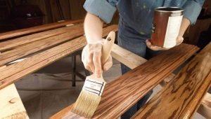Тонкости выбора краски для деревянной мебели